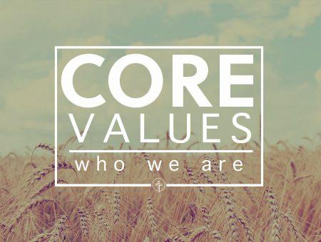 Core Values: Discipleship