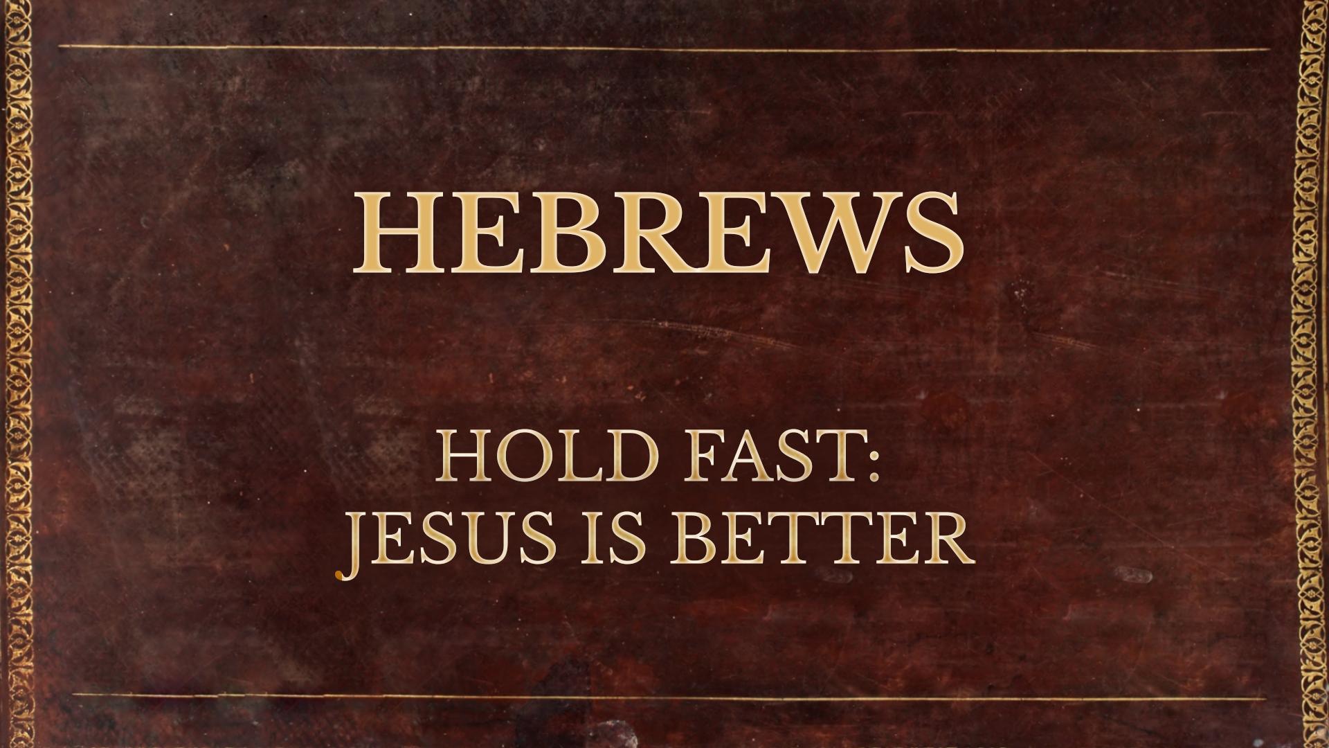 Jesus Our Superior Messenger